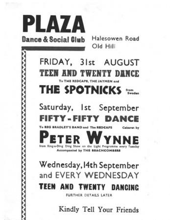 1962 Spotnicks GB Ankündigung