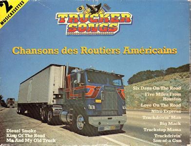 Trucker songs - framsida