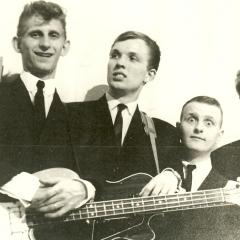 1961 Spotnicks Gruppenfoto 1