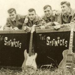 1961 Spotnicks Gruppenfoto