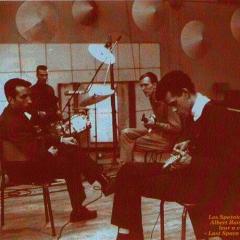 1963 Spotnicks in French recoding studio (1)