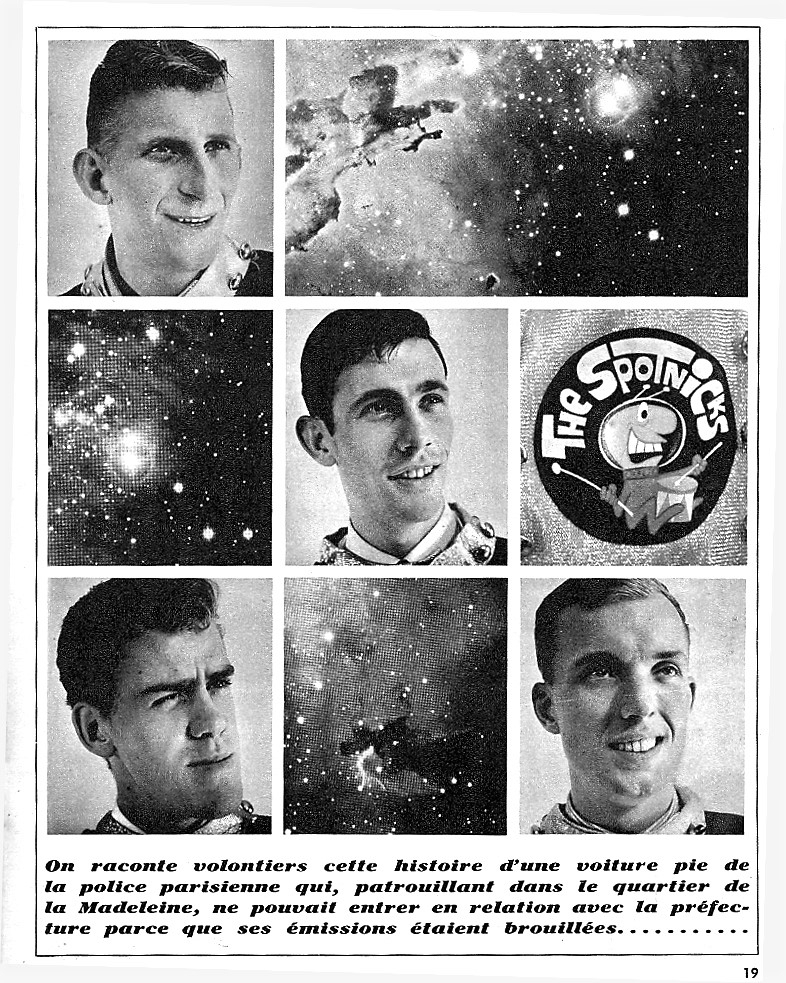 1963 Spotnicks Einzelfotos Space