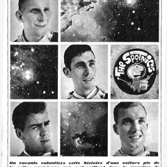 1963 Spotnicks Einzelfotos Space