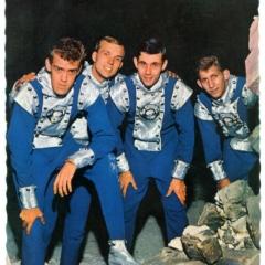 1963 Spotnicks mit Space suits