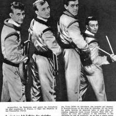 1963 Spotnicks in French Magazine