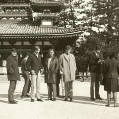 1966 Spotnicks in Japan sightseeing
