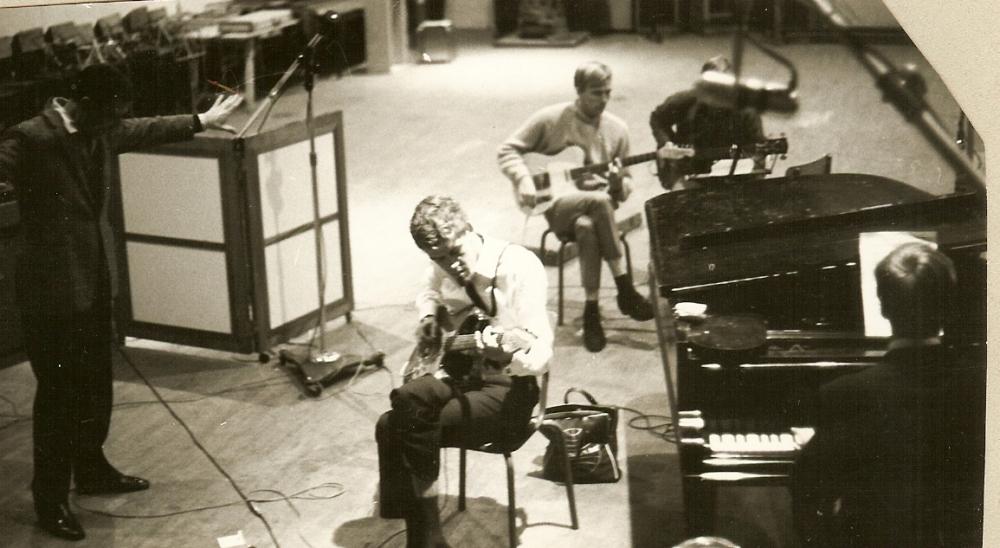 1966 B Spotnicks recording studio