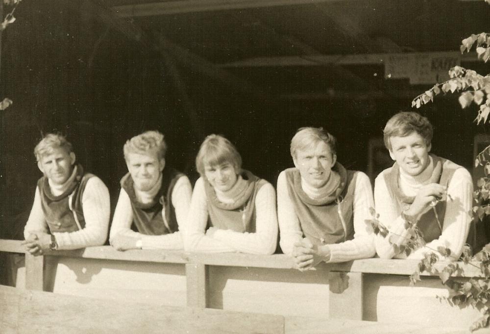 1967 Spotnicks Gruppenfoto 1
