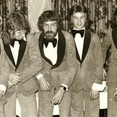 1974 02 Gruppenfoto backstage
