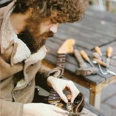 1975 Bo bastelt Strat 2