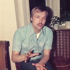 1975 Bob at home