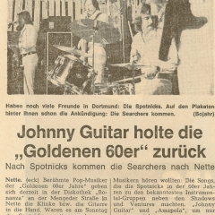 1976 03 Spotnicks Bonanza RN Artikel