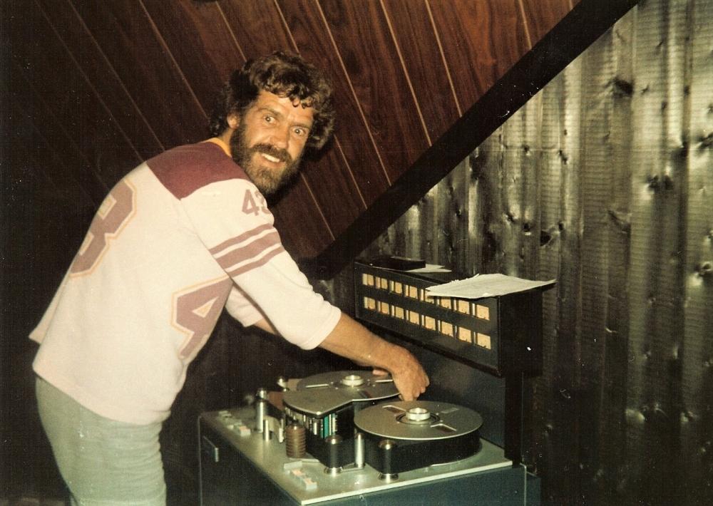 1980 07 Bo im Studio
