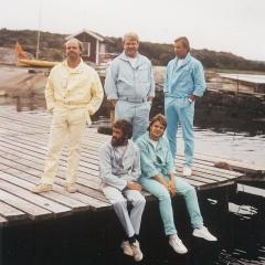 1983 06 Spotnicks am Wasser 1