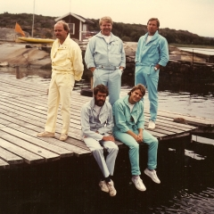 1983 06 Spotnicks am Wasser 2