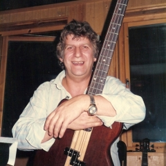 1984 11 Bjoern im Studio