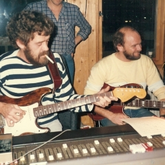 1984 11 Bo Arne im Studio