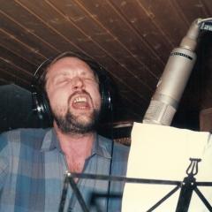1984 11 Bob im Studio