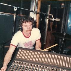 1984 11 Lasse im Studio