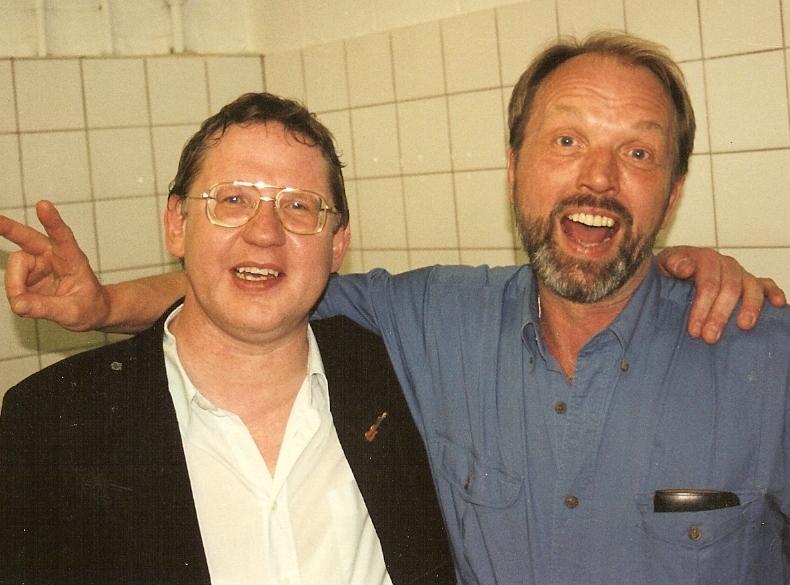 1995 04 Bob Carlos backstage Moers